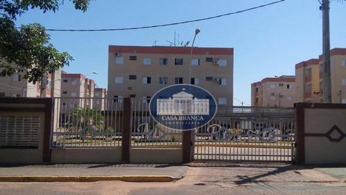 Apartamento Com 2 Dormitórios À Venda, 55 M² Por R$ 160.000 - Vila Aeronáutica - Araçatuba/sp - Ap0714
