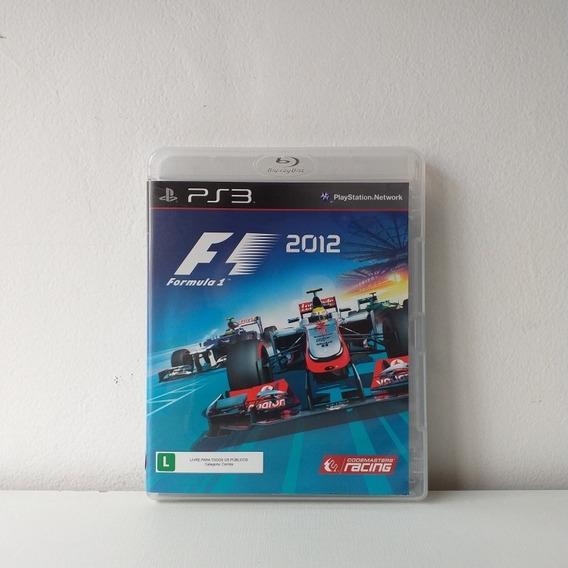 Jogo F1 2012 - Formula 1 - Ps3