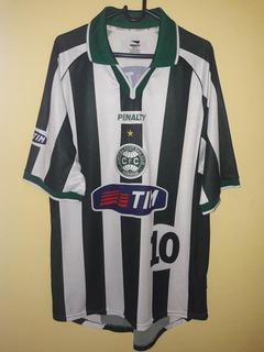 Camisa Do Coritiba 2001 (penalty) Tim #10 Tamanho G
