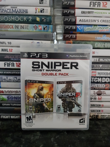 Sniper Ghost Warrior Double Pack *playstation 3 Original*