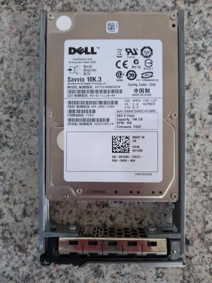 Hd Dell 146gb 10k.3 2.5 Sas 6gb/s St9146803ss 9fj066-0510
