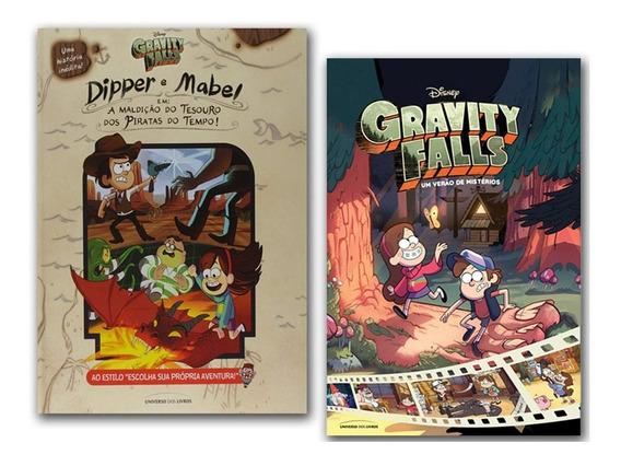 Gravity Falls Um Verão De Mistérios + Maldição Tesouro Perdi