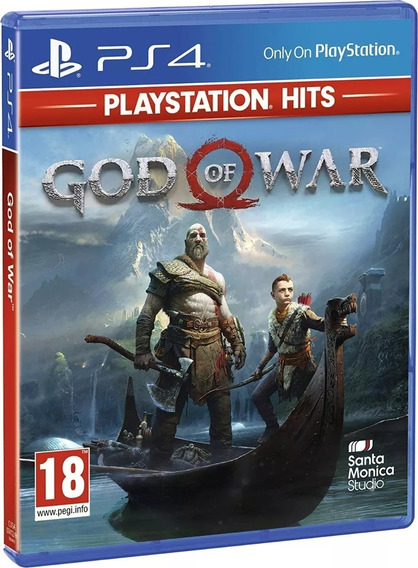 God Of War 4 Ps4 Mídia Física Lacrado Promoção