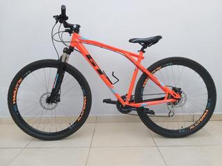 Bicicleta Gt Laranja Aro 29, Quadro 19