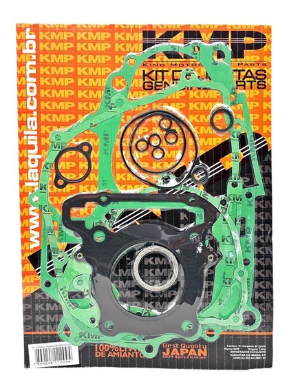 Kit Jogo Juntas Motor Completo Xr250 Tornado Cbx250 Twister