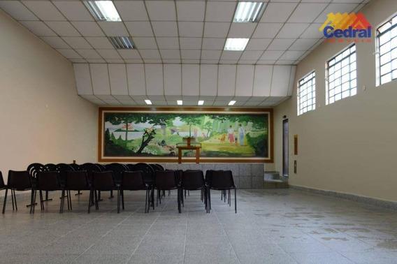 Salão À Venda, 220 M² Por R$ 410.000,00 - Cidade Boa Vista - Suzano/sp - Sl0024