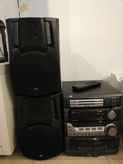 Equipo De Audio Jvc Mx-d302t
