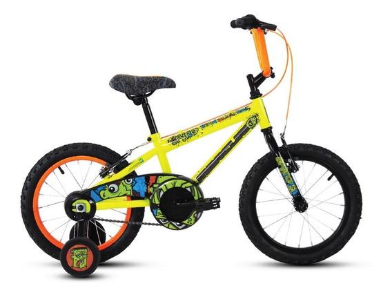 Bicicleta Mercurio Spyro Rodada 16, Para Niño