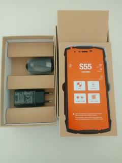 Celular Doogee S55 Resistente A Água E Choque, 4gb Ram 64 Gb