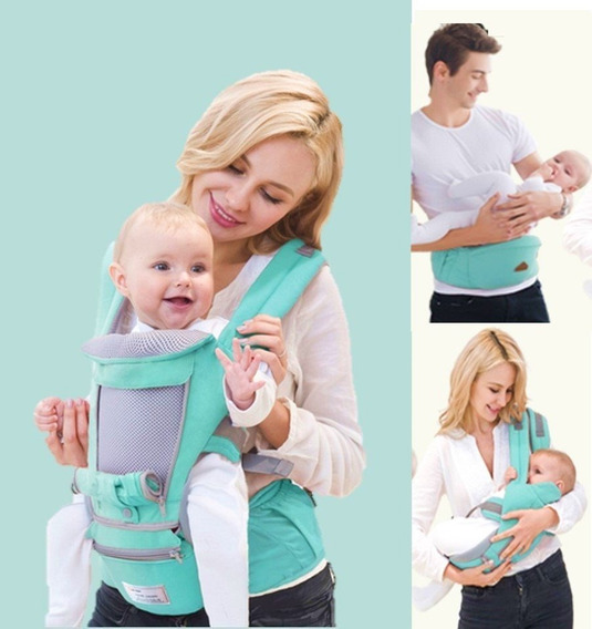 Canguru De Bebê Ergonômico 3 Em 1 - 9 Posições- Frete Grátis
