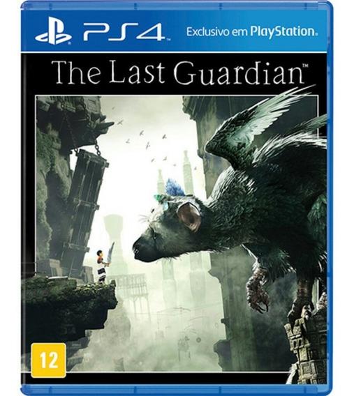 Jogo The Last Guardian Ps4 Playstation 4 Mídia Física