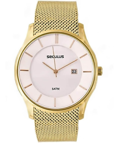 Relógio Feminino Seculus 20430gpsvda4 Barato Original