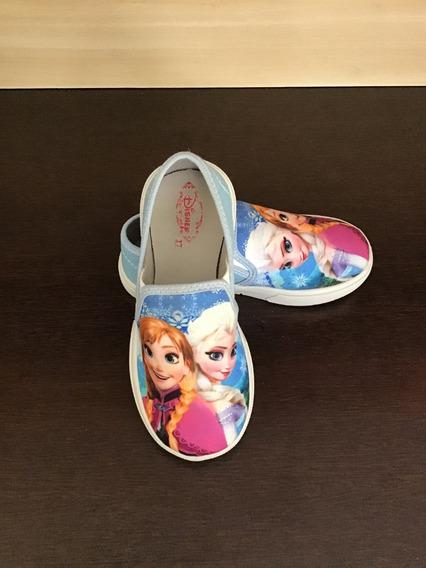 Sapatinho Infantil Frozen Tenis Personagem Calçado Kids