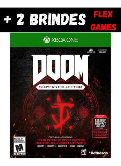 Doom Slayers CollectionXbox One + 2 Brindes