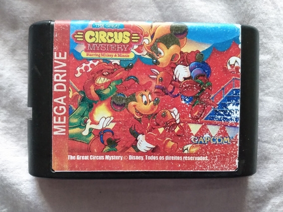 Cartucho Mega Drive The Great Circus Mystery ( Paralelo )