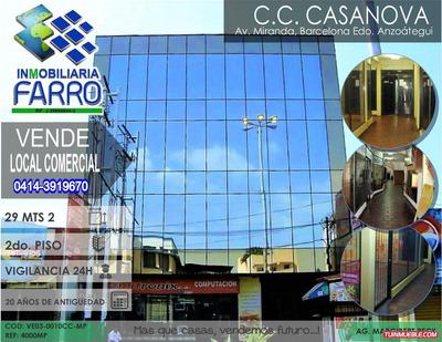 Venta De Local En El C.c. Casanova, Barcelona Ve03-0010cc-mp