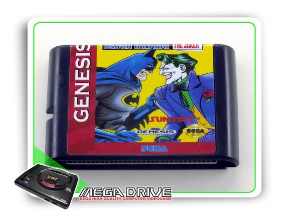 Batman Revenge Of The Joker Sega Mega Drive - Novo