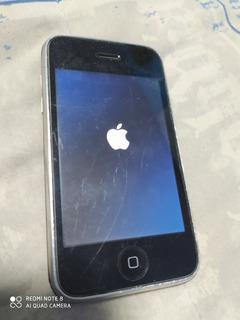 iPhone 3g 16 Gb Telcel Vintage Con Funda Cargador Coleccion