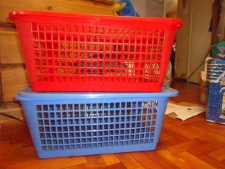 Canastos Organizadores Plasticos Con Tapas