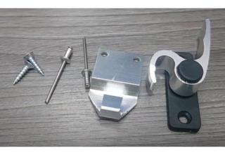 Trinco Fecho 751 Japones Meia Lua Janela Aluminio Caracol