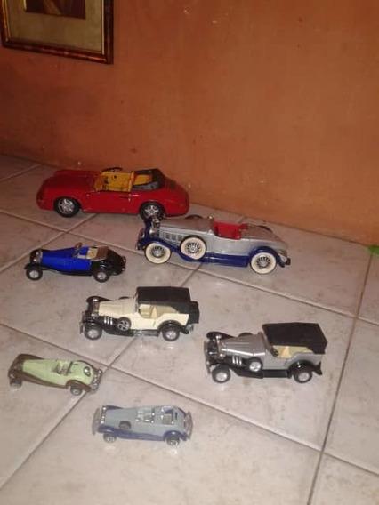 Coleccion Carros Antiguos Oferta Escala Machtbox Hotwheels