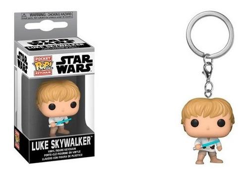 Funko Pop Keychain Star Wars Luke Skywalker Nuevo Vdgmrs