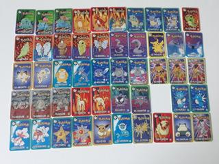 Tazos Cards Pokemon - Coleção Quase Completa 49/50