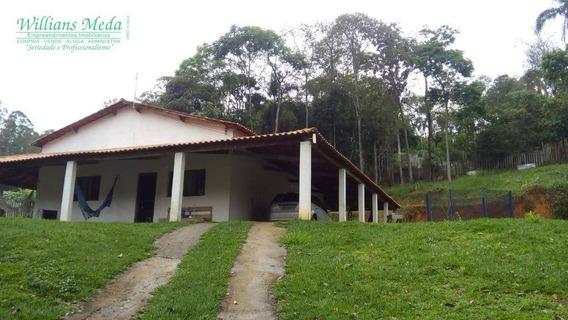 Chácara Com 2 Dormitórios À Venda, 1800 M² Por R$ 299.900,00 - Granja Urupês - Arujá/sp - Ch0088