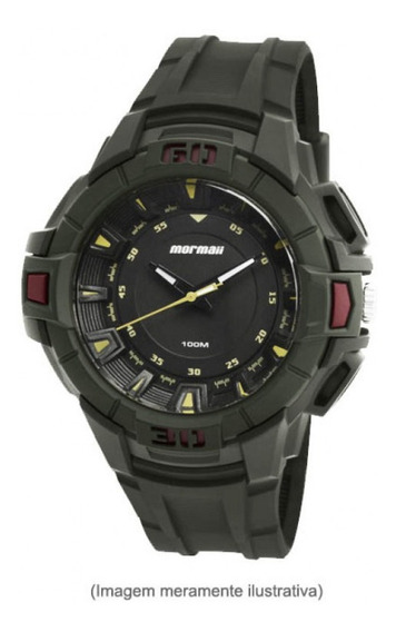 Relógio Mormaii Masculino Acqua Verde Militar Moy121eab/8v