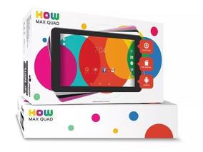 Tablet How Max Quad A0011-c 7x Polegadas Com Wi-fi,câmera!