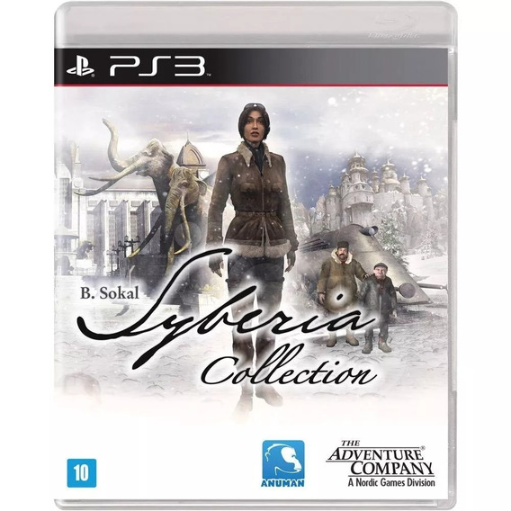Syberia Collection Ps3 Midia Fisica Novo Lacrado