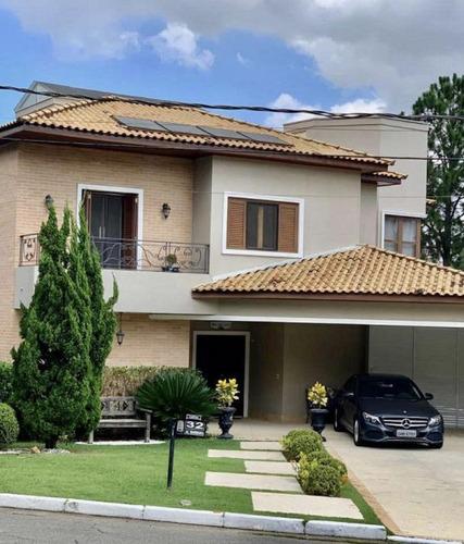 Sobrado Com 5 Dormitórios À Venda, 550 M² Por R$ 3.500.000 - Alphaville Residencial Plus - Barueri/sp - So2106