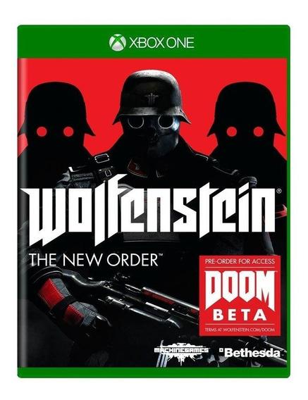 Wolfenstein The New Order Xbox One Mídia Física