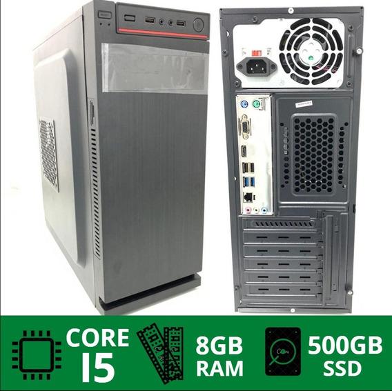 Pc Cpu Core I5 8gb 500gb Novo E Barato