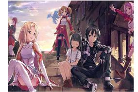 Sword Art Online (kirito E Asuna Friends )