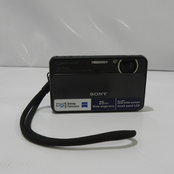 Sony Cyber-shot Dsc-t99 Digital Camera (silver) **usada**