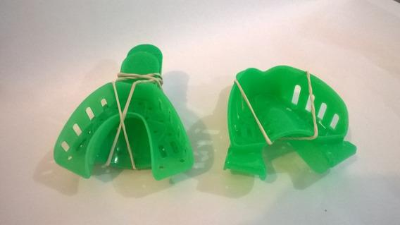 2 Pares Cubetas De Impresion Plasticas Talla S Y M