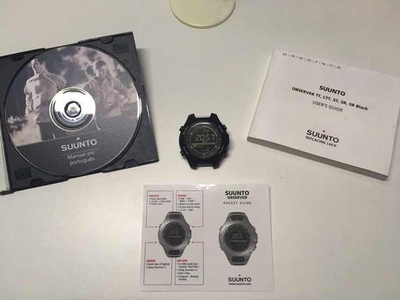 Relógio Bússola Altímetro Barômetro Suunto Observer