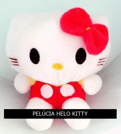 Hello Kitty Pelúcia 18 Cm Pronta Entrega