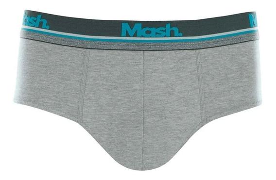 Cueca Slip Mash 173.17 Plus Size Algodão Cotton Xgg Xxgg
