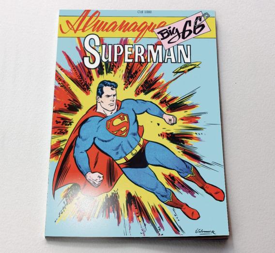 Almanaque Superman Big 1966 Ed Ebal - Facsimile