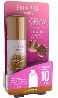 Everpro Beauty Gray Away For Women Cor: Light Brown