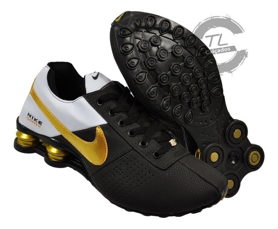 Tênis Nike Shox Classic Avenue Original Couro Garantia Frete