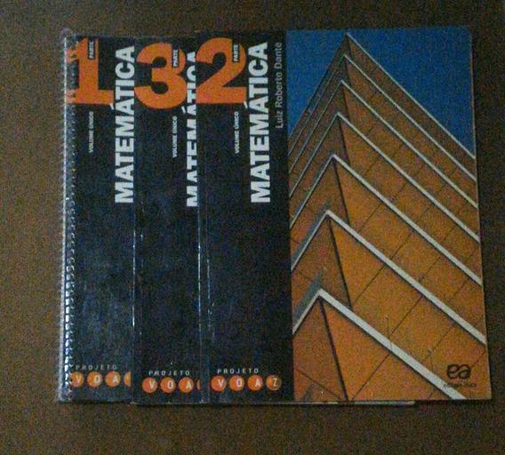 Matemática - Coleção Projeto Voaz. 3 Volumes + Caderno
