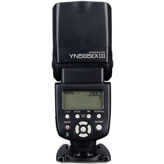 Flash Ttl Yongnuo Yn-565ex Iii - Canon Garantia Sem Juros
