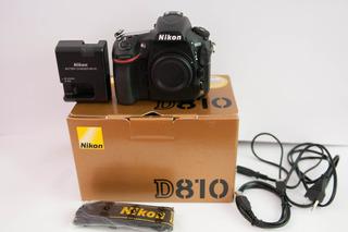 Vendo Camara Nikon D 810 Solo 4250 Disparos No Hago Permutas