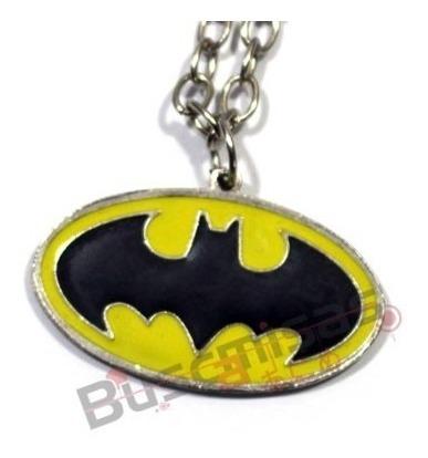 Colar Batman Clássico Liga Da Justiça Origem Da Justiça Dc