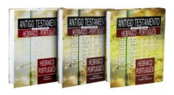Kit Antigo Testamento Interlinear Hebraico-português