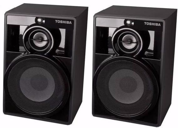 Caixa Acústica Original Toshiba 500w Rms 4ohms Ms8080 O Par