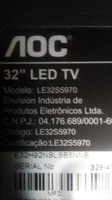 Placas Tv Aoc 32 Pol Le32s5970 Todas As Placas